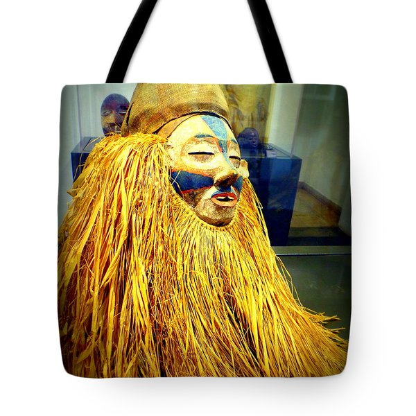 African Artifact Tote Bag