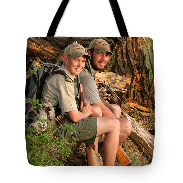African Game Guides Tote Bag
