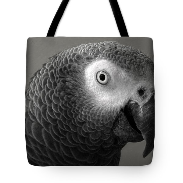 African Gray Tote Bag