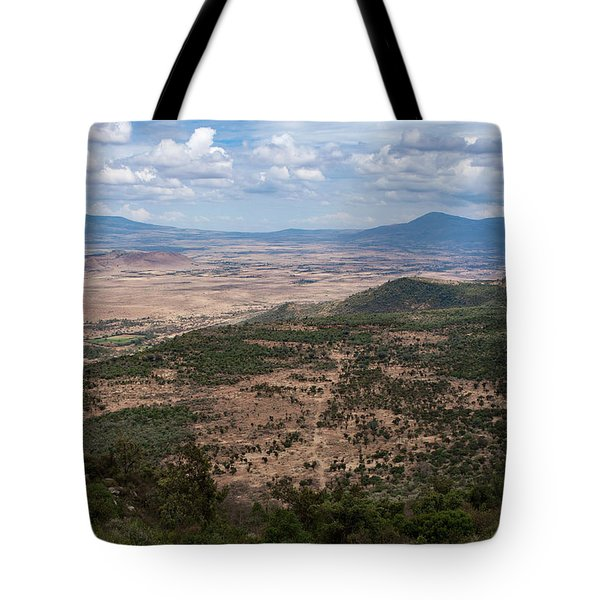 African Great Rift Valley Tote Bag by Aidan Moran