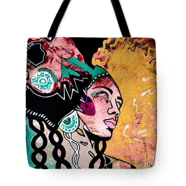 African Gypsy Tote Bag