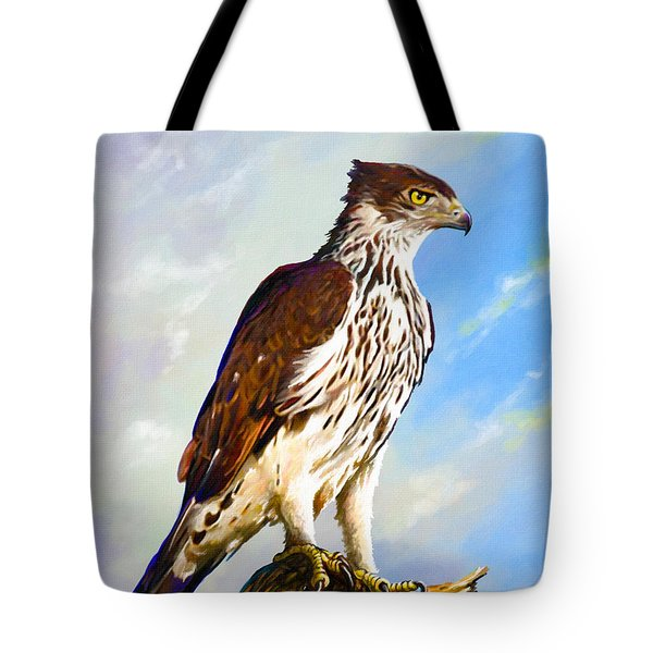 African Hawk Eagle Tote Bag