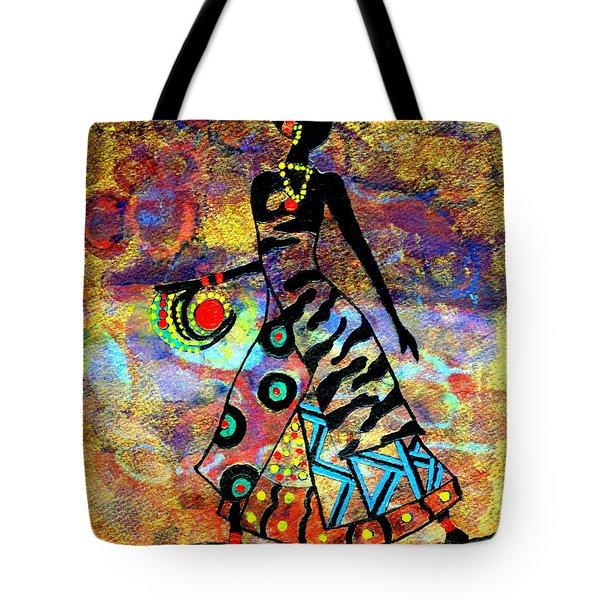 African Healer New Color Tote Bag