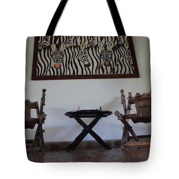African Interior Design 1 Tote Bag