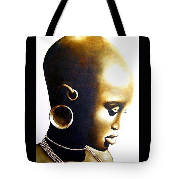 African Lady - Original Artwork Tote Bag