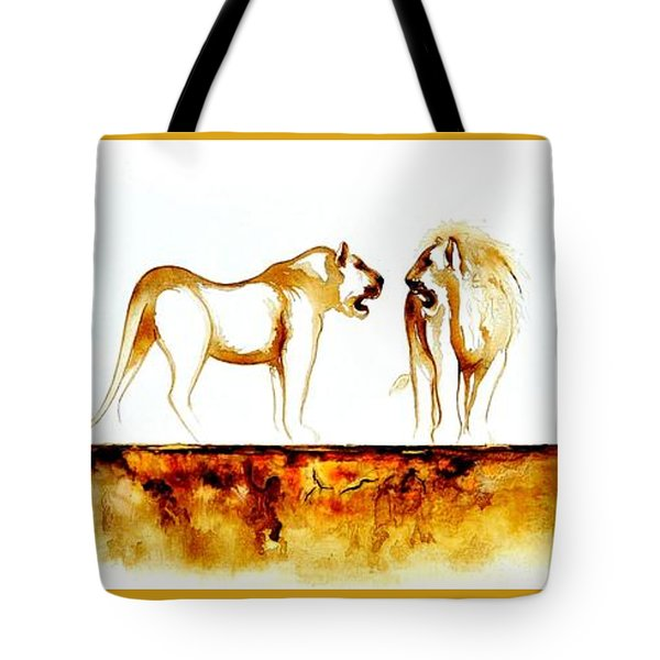 African Marriage - Original Artwork Tote Bag