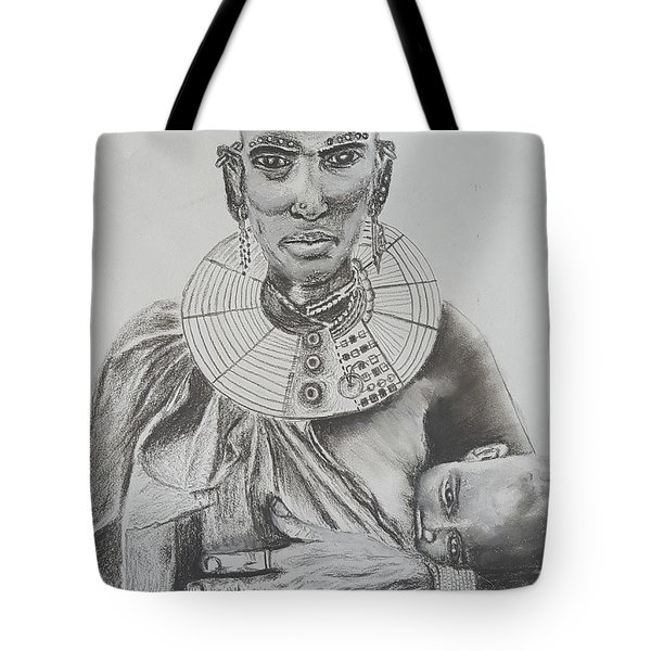 African Mother Tote Bag
