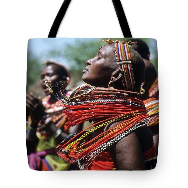 African Rhythm Tote Bag