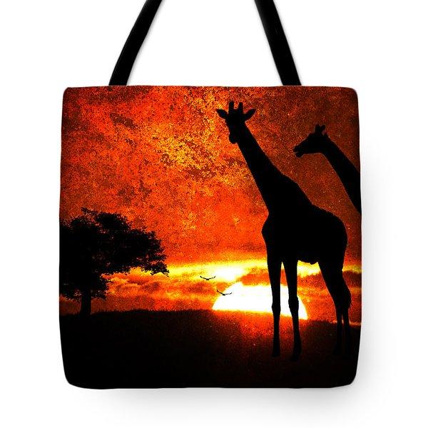 African Safari Tote Bag