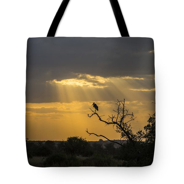 African Sunset 2 Tote Bag
