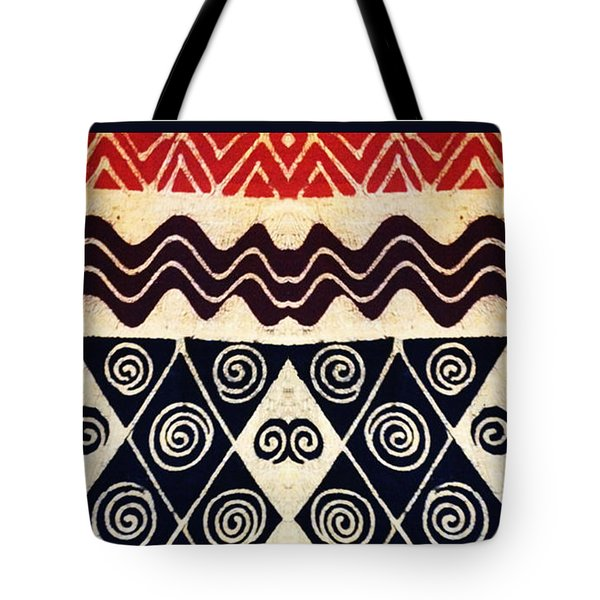 African Tribal Textile Design Tote Bag