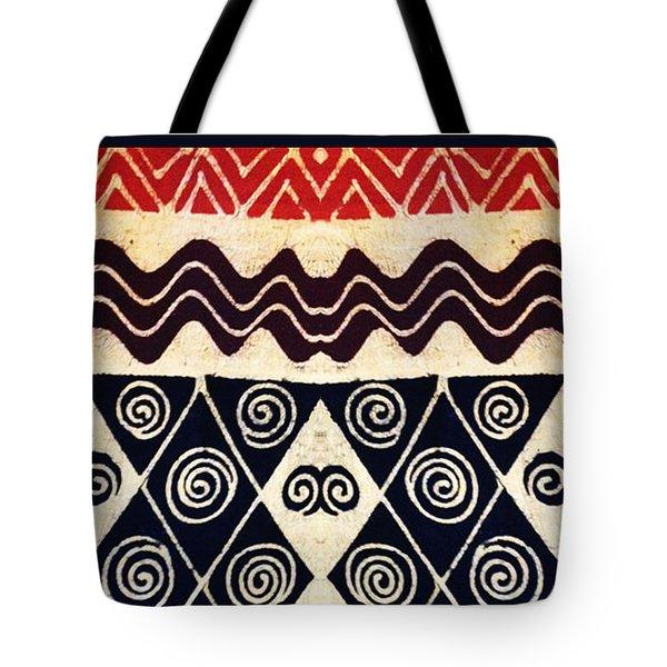 African Tribal Textile Design Tote Bag