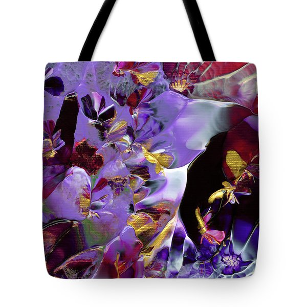 African Violet Awake #2 Tote Bag