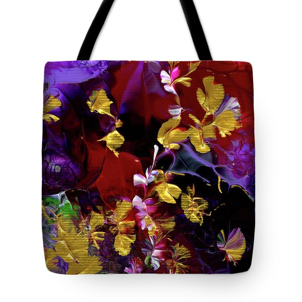 African Violet Awake #3 Tote Bag