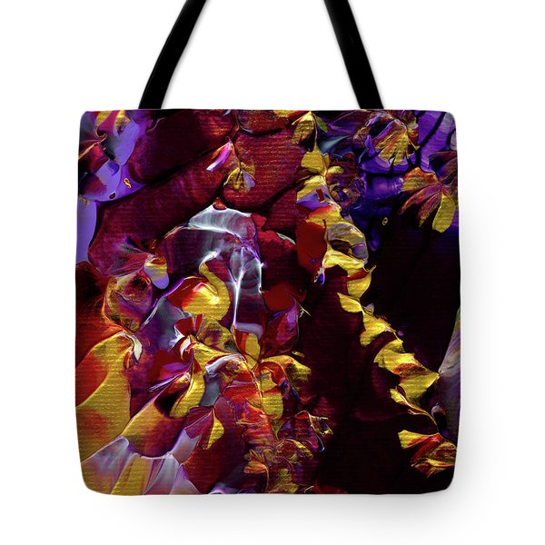 African Violet Awake Tote Bag