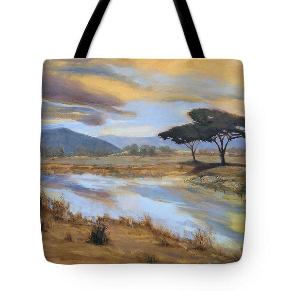 African Vista Tote Bag