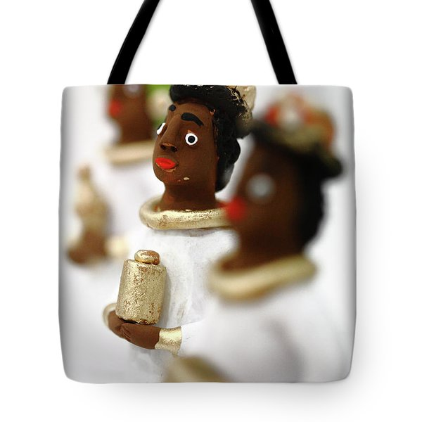 African Wise Men Tote Bag by Gaspar Avila