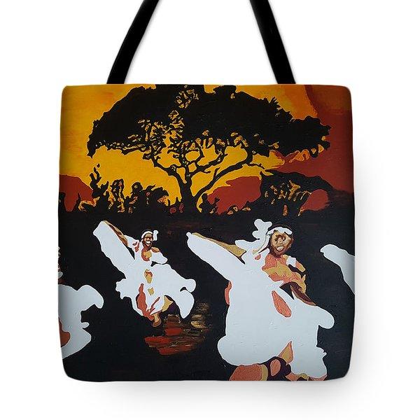 Afro Carib Dance Tote Bag