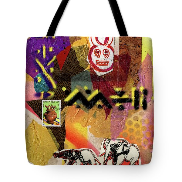 Afro Collage - O Tote Bag