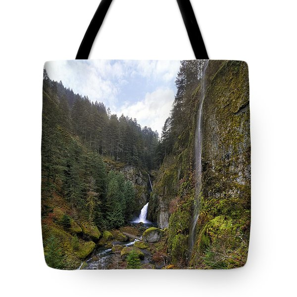 After A Rainstorm Tote Bag by David Gn