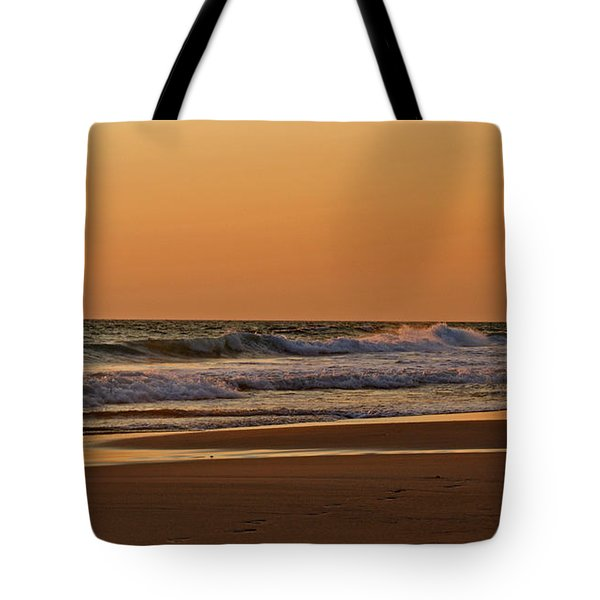 After A Sunset Tote Bag