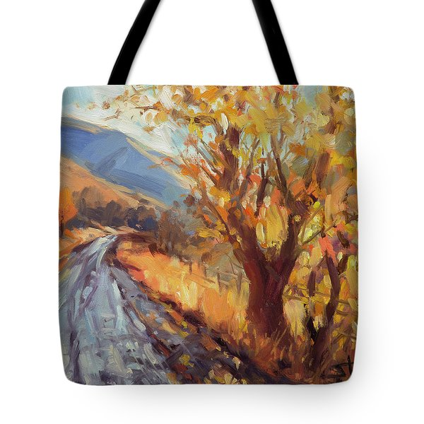 After An Autumn Rain Tote Bag