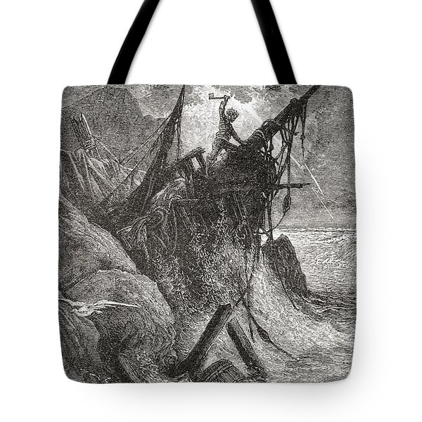 After An Original Work By Gustave Dore Tote Bag