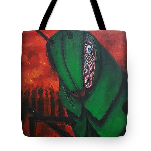 After Bob Died He Realized He Had Made Poor Life Choices. Tote Bag by Chris Benice