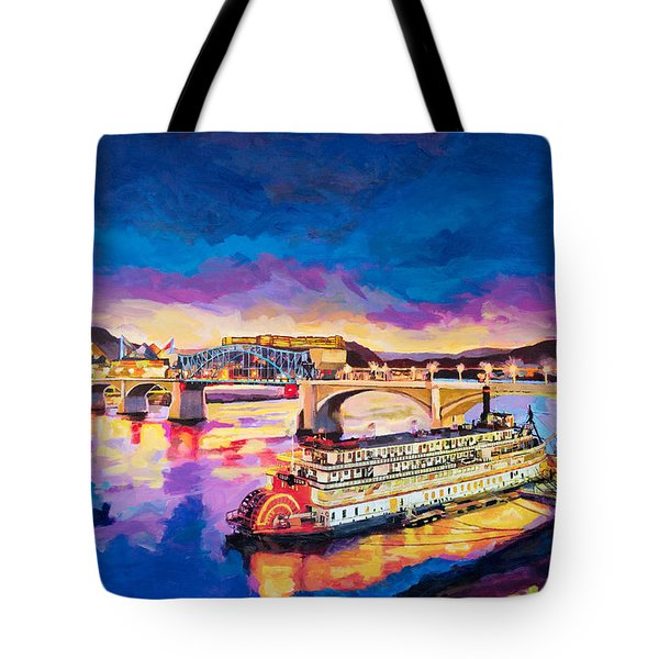 After Dusk Painting Tote Bag