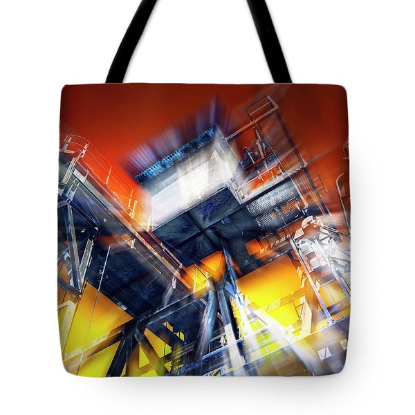 Tote Bag featuring the photograph After Effect by Wayne Sherriff