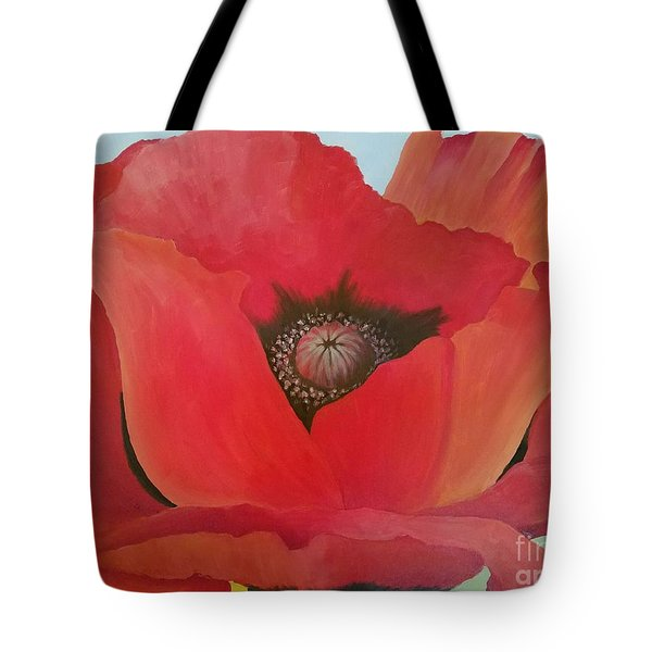 After Georgia Tote Bag by Susan Williams