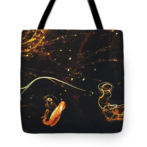 After Midnight - Abstract Photography - Paint Pouring Art Tote Bag by Modern Art Prints