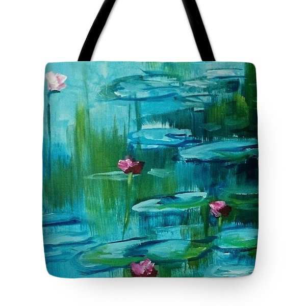 After Monet Tote Bag