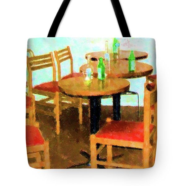 After Party Tote Bag by Debbi Granruth