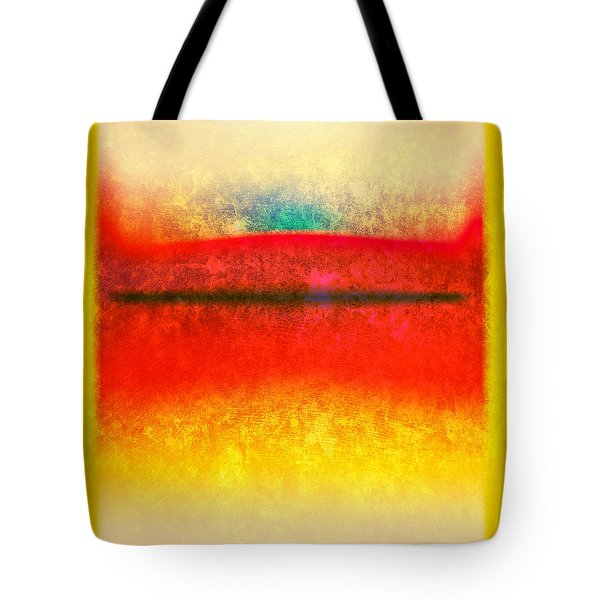 After Rothko 8 Tote Bag