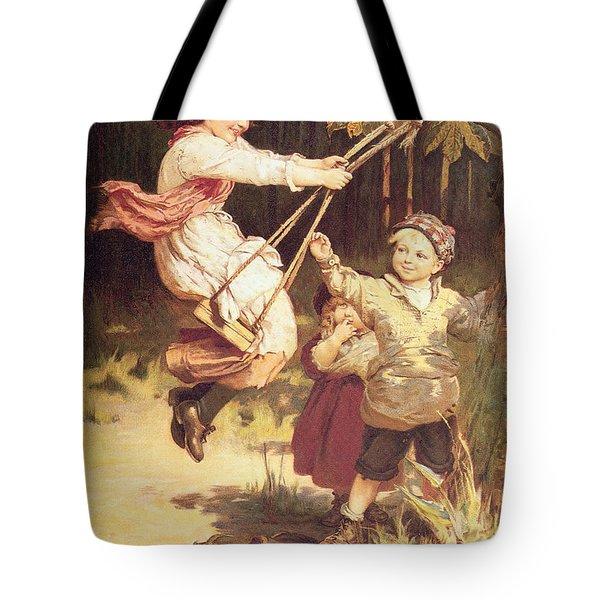 After School Tote Bag by Frederick Morgan