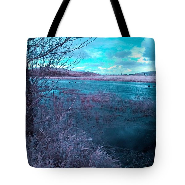 After Storm Surrealism Tote Bag