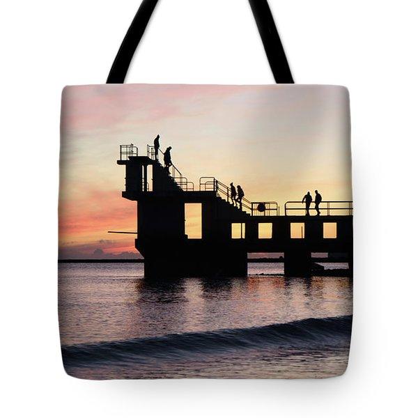 After Sunset Blackrock 4 Tote Bag