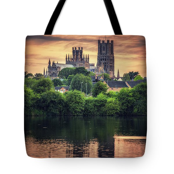 Tote Bag featuring the photograph After Sunset by James Billings