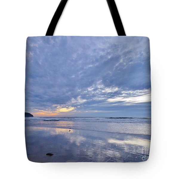 Moonlight After Sunset Tote Bag by Michele Penner