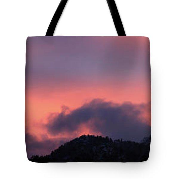 After Sunset - Panorama Tote Bag