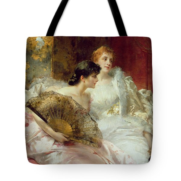 After The Ball Tote Bag by Conrad Kiesel