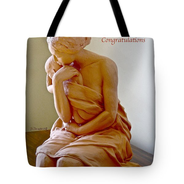 After The Bath Congratulations Tote Bag