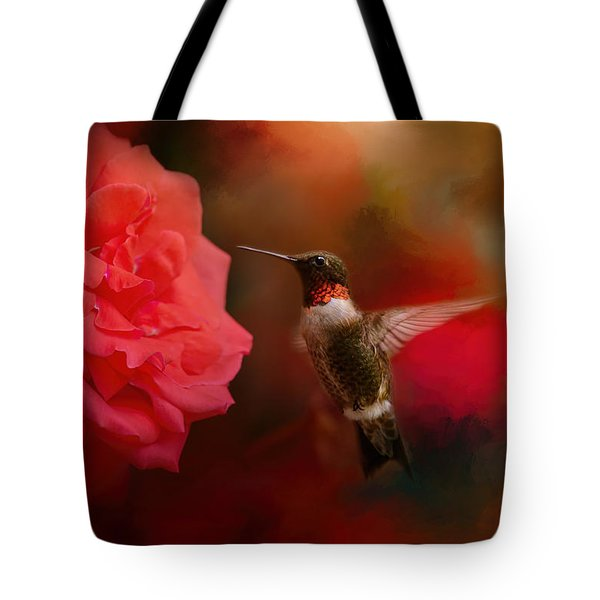 After The Big Rose Tote Bag