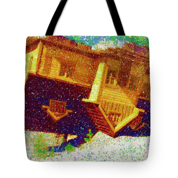 After The Calamity Tote Bag by Mario Carini