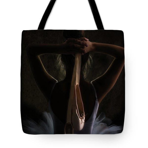 After The Dance Tote Bag by Teresa Blanton