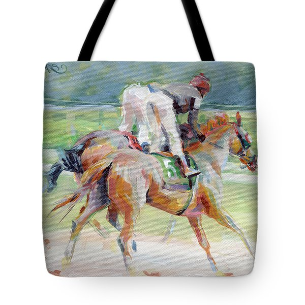 After The Finish Tote Bag by Kimberly Santini