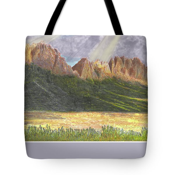 After The Monsoon Organ Mountains Tote Bag by Jack Pumphrey