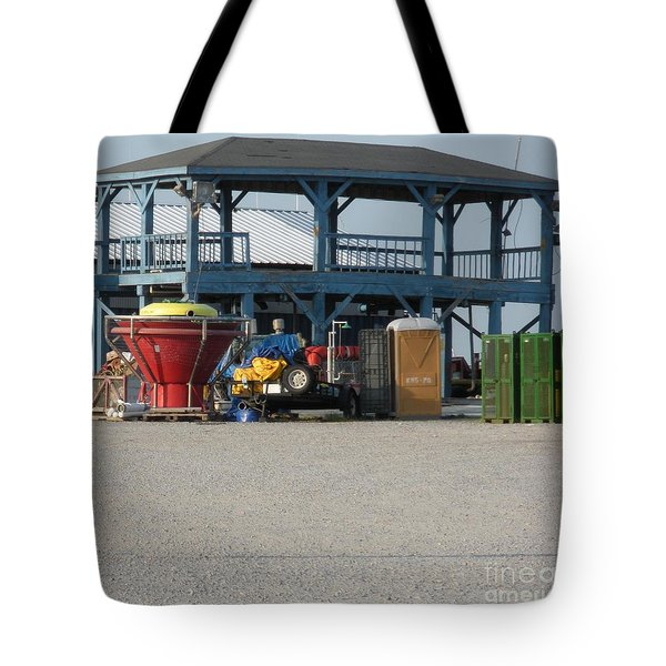 After The Oil Spill Tote Bag
