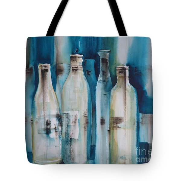 After The Party Tote Bag by Donna Acheson-Juillet